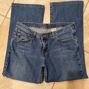 Lucky Brand Josie Mid rise 32x27 jeans